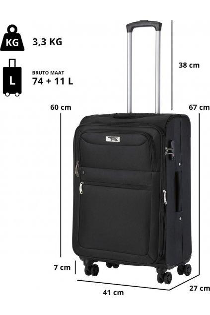 kufrland travelz softspinner black (2)