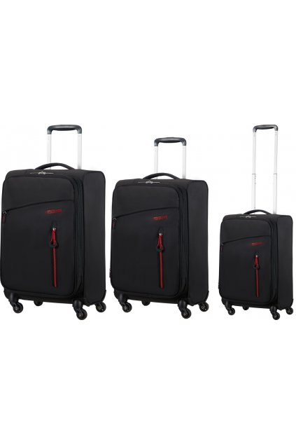 upright 20 american tourister litewing volcanic black (7)