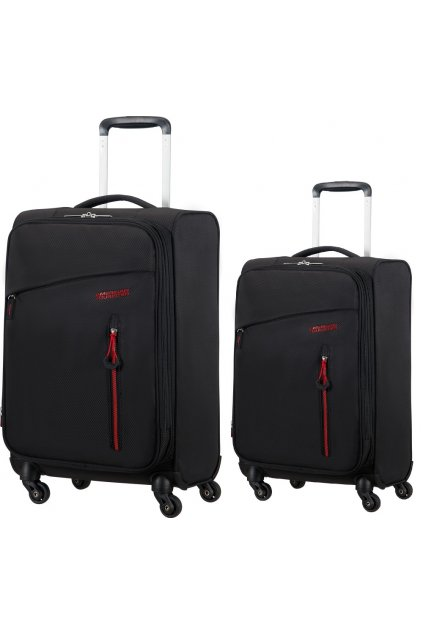 upright 20 american tourister litewing volcanic black (8)