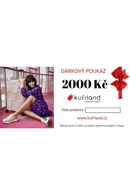 kufrland darkovypoukaz 2000kc