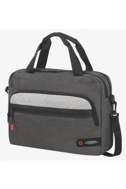 kufrland americantourister cityaim laptopbackpack anthracitegrey (1)