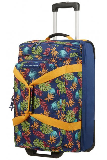 kufrland americantourister alltrail duffle printtropicalleaves (1)