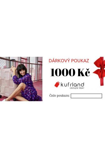 kufrland darkovypoukaz 1000kc