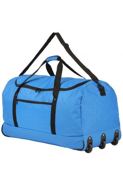 kufrland travelz foldablewheelbag blue (8)