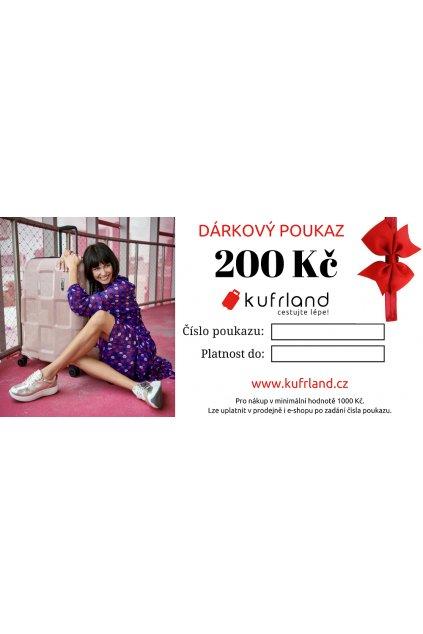 kufrland dárkový poukaz200kc