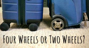 Kufor s dvomi alebo štyrmi kolieskami?