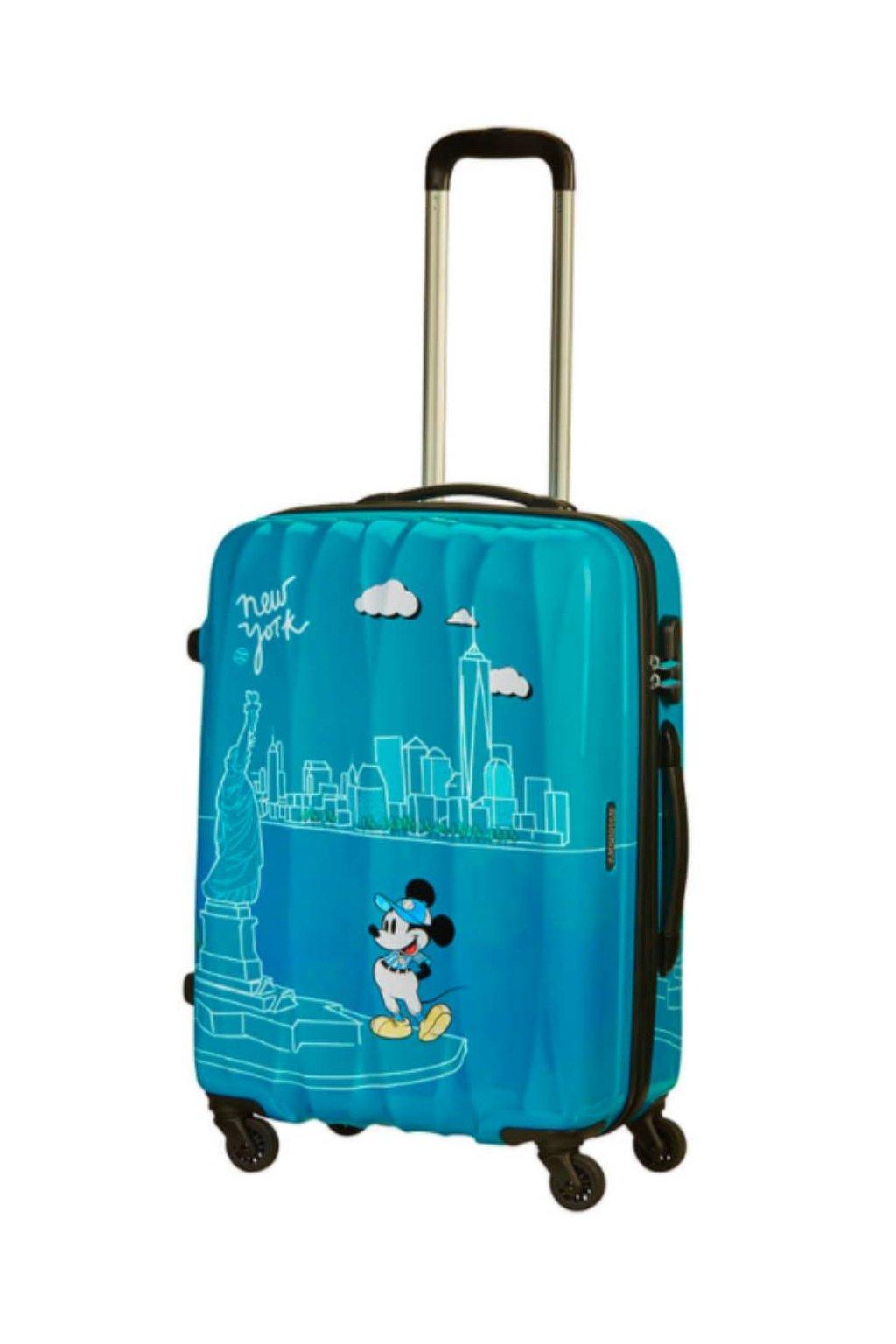 Príručný kufor AlfaTwist 2.0 Take Me Away Mickey New York
