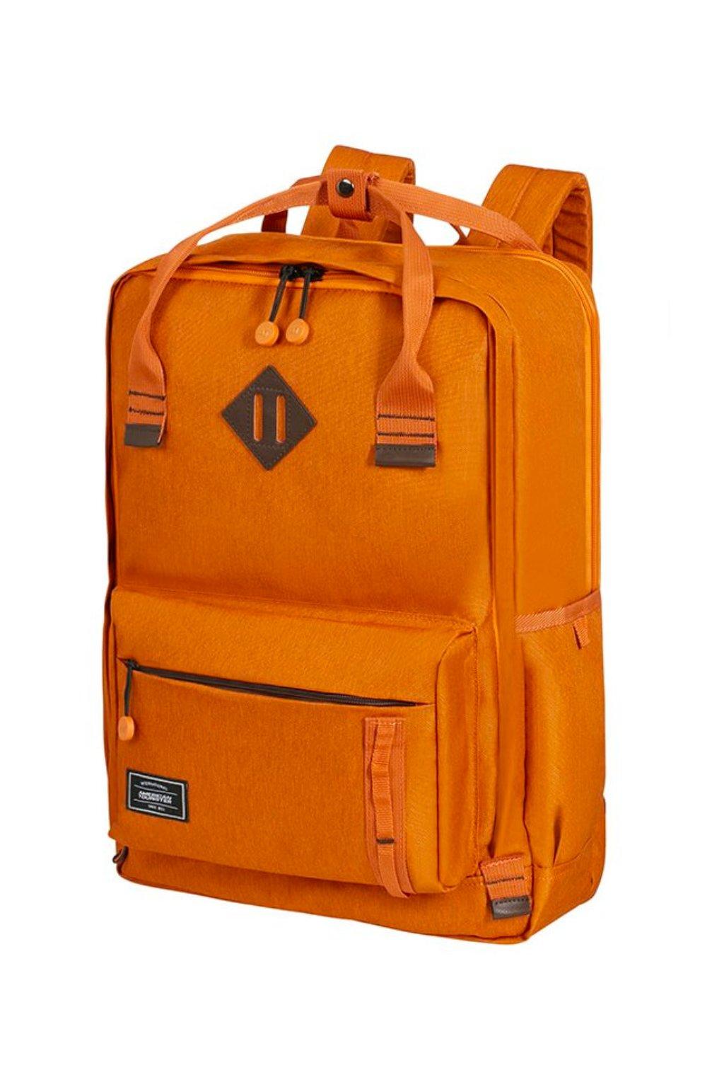 kufrland americantourister urbangroove lifestyle backpack saffron (9)