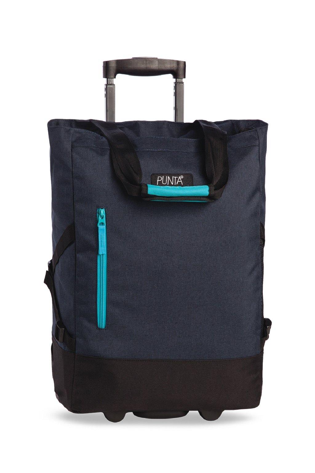 Nákupná taška Punta Wheel Dark Blue