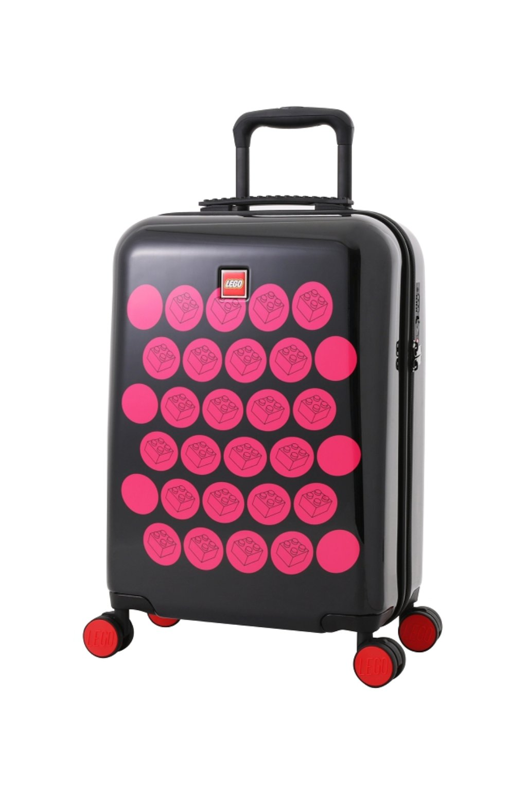 kufrland lego colourbox brickdots black:pink s 5