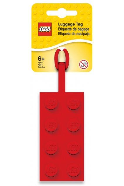 kufrland lego jmenovka kostka červená1