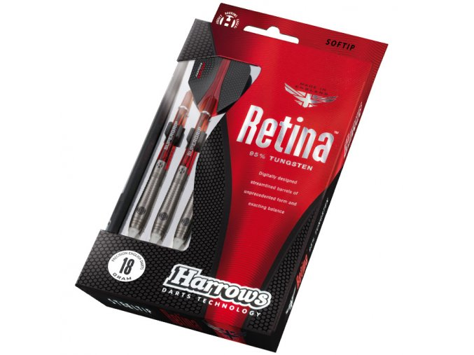 Šipky Harrows Retina softip