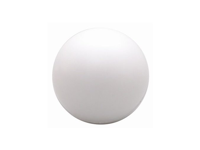 white stress ball