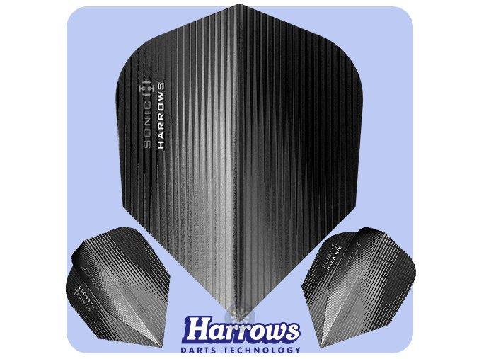 harrows sonic dart flights standard smokey