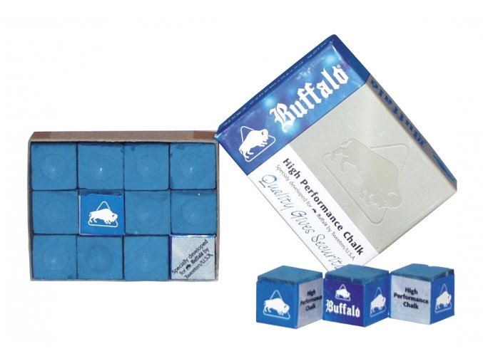 3002.010 Chalk Buffalo Blue Box 12Pcs