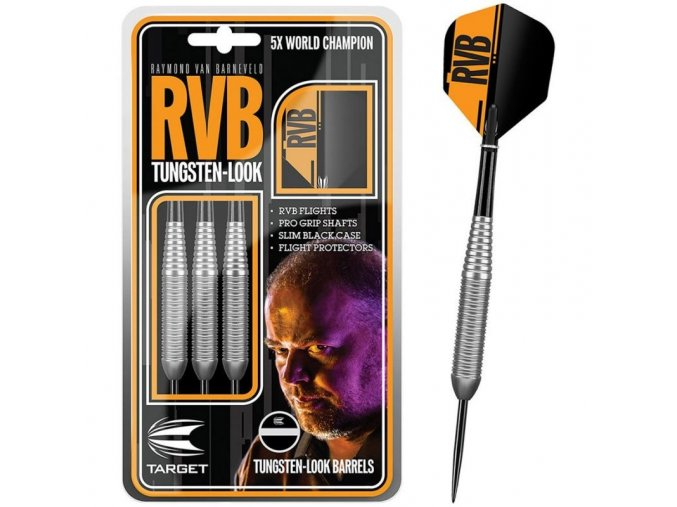 RvB Steel Tip Silver | Target
