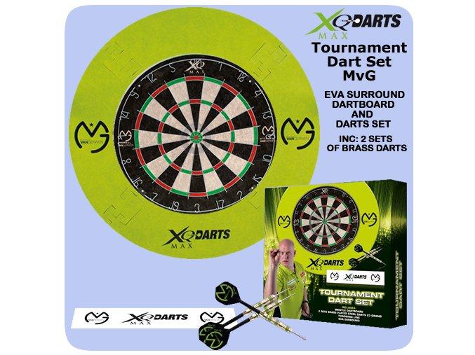 michael van gerwen surround darts set