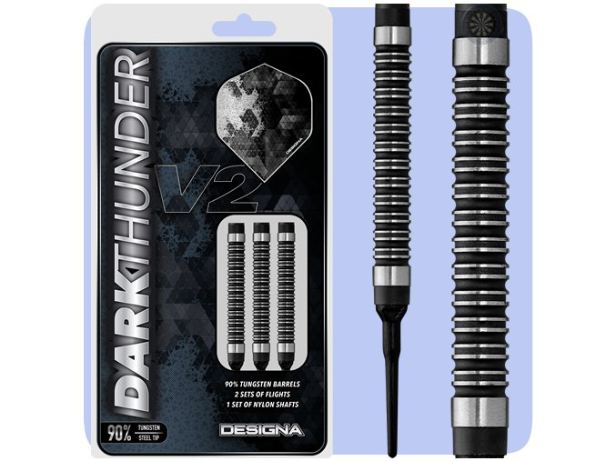 designa dark thunder darts v2 softtip base