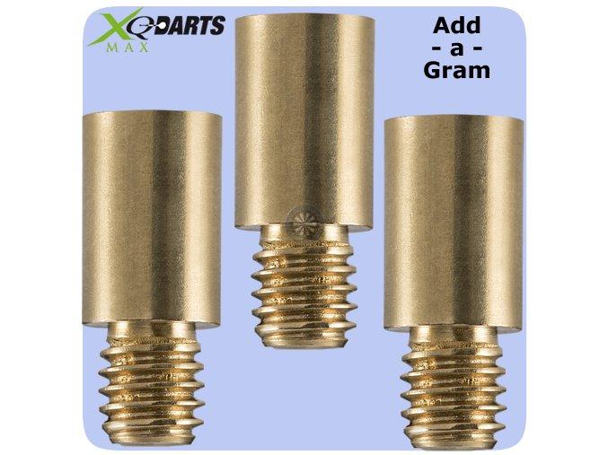 xqmax add a gram extra weight brass