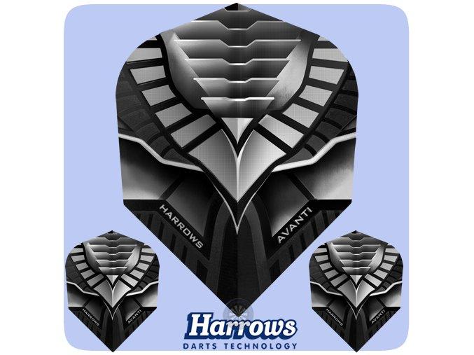 harrows avanti dart flights 7404