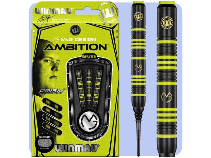 winmau mvg ambition darts soft 2237 base