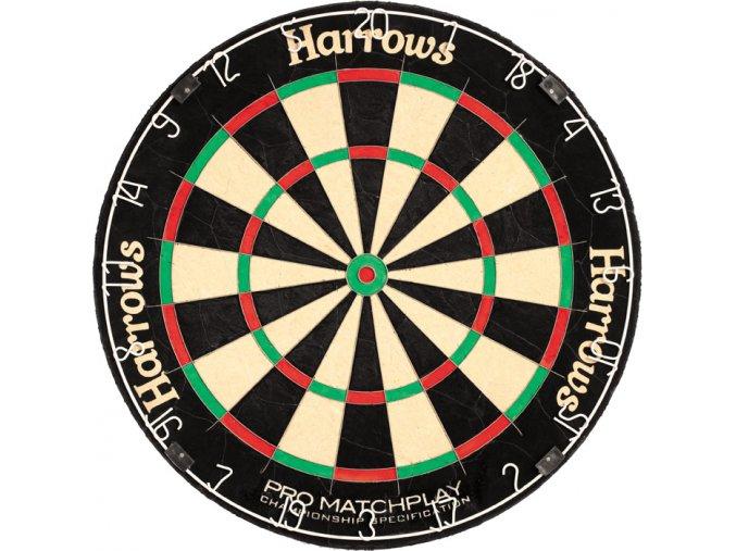 Sisálový terč Harrows Pro Matchplay