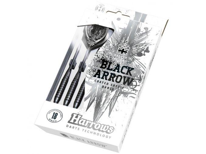 Black Arrows Harrows soft šipky