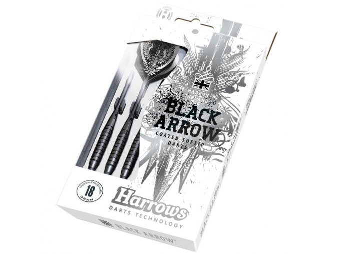 Black Arrows Harrows soft šipky