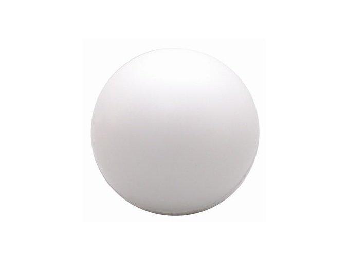 white stress ball