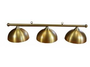 3 dilna lampa retro gold