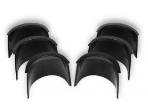 Gumové kouty - 10cm (6ks)