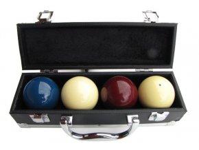 Kufřík na 4ks karambolových koulí