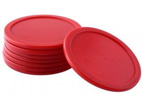8Pcs 63mm Red font b Air b font font b Hockey b font Children Table Mallet