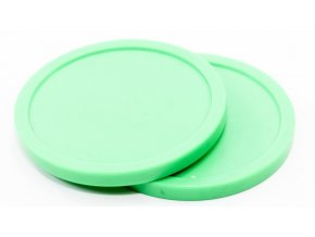 standard green 3 0 25 in air hockey puck 22 127 table games accessories 4