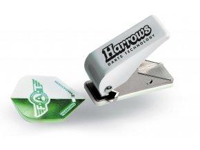 harrows dart flight hole punch pocket size flight punching machine 16484 p