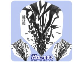 harrows rapide dart flights standard smokey