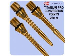 targettitaniumprogroovedgoldpoints26mm