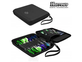 Harrows Blaze Pro12 Dart Wallet Black Icon 1024x1024