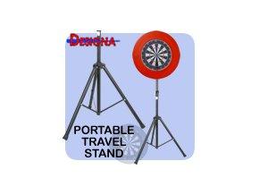 darts travel stand quick setup portable standard sm