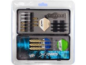 xqmax brass darts giftset 700100