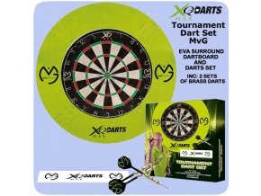 michael van gerwen surround darts set