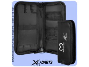 xqmax mvg darts maxi wallet signature black