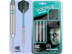 target rob cross darts silver voltage steel tip base