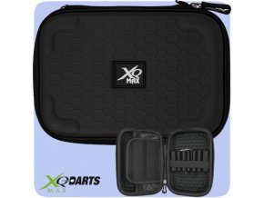 xqmax darts case large logo black