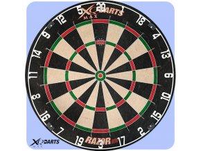 xqmax professional dartboard razor hd
