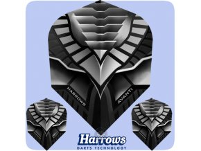 harrows avanti dart flights 7404