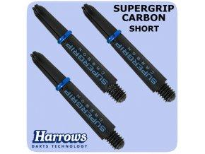 harrows supergrip carbon shafts aqua short