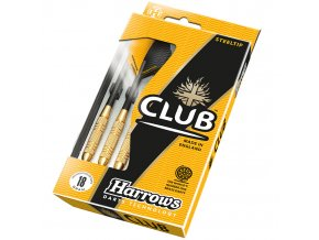 Šipky Club brass steel Harrows