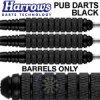 pub darts steel tip black 22 knurled sm