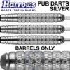 pub darts steel tip silver 20 knurled sm